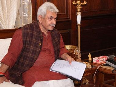 Manoj Sinha, Minister of Telecom. PIB