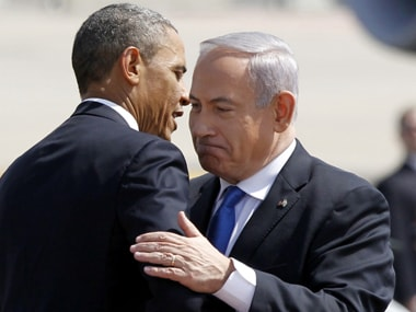 Netanyahu and Obama. Reuters