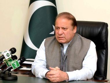 A file photo of Nawaz Sharif. AFP