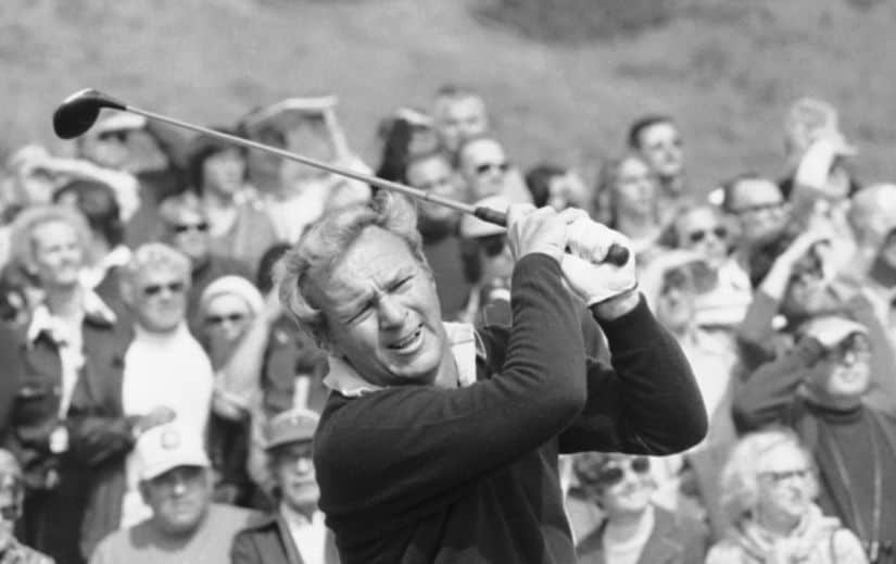 File photo of Arnold Palmer. AP