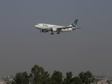 File Image of Pakistan International Airlines passenger plane. Reuters