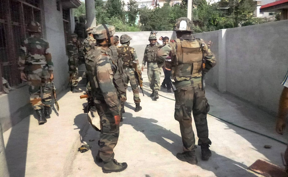 A senior army personal said that the operation is still on for the third day. The building has two floors and several rooms and terrorists are taking benefit of it by firing from different areas. PTI
