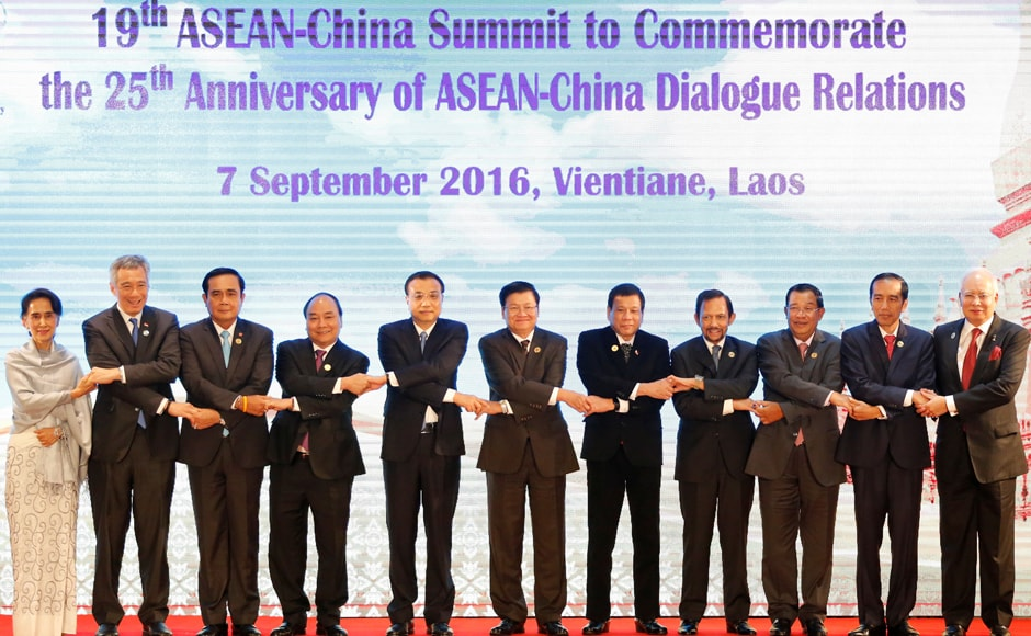 Asean leaders open summit in Laos capital
