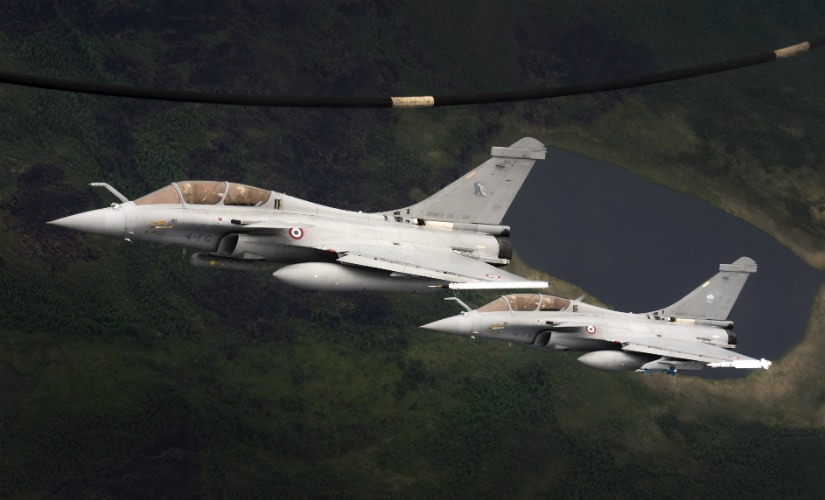 Rafale fighters.  Reuters