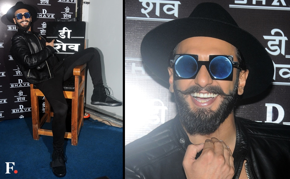 Singh seemed to be enjoying himself at the launch of the salon which is located in Bandra West, Mumbai. Sachin Gokhale/Firstpost