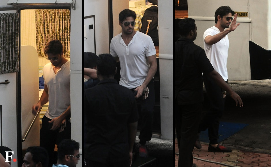 Sidharth Malhotra was spotted recently near CST station in Mumbai. Sachin Gokhale/Firstpost