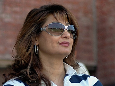 File image of Sunanda Pushkar. PTI
