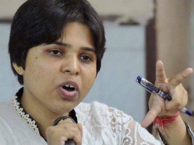 A file photo of Trupti Desai. PTI
