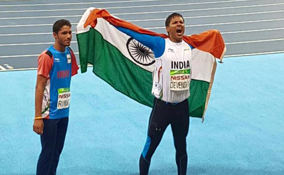 Devendra Jhajharia. Legend. Your two throws of the javelin 12 years apart speak more than any words can for Indian sport. #ParaChampions GoSports Foundation - RD