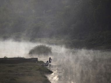 A file image of the Cauvery river. Reuters