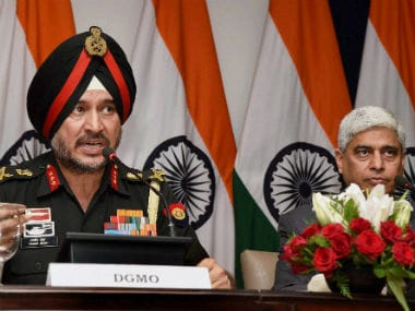 Joint press conference addressed by DGMO and MEA spokesperson Vikas Swarup. PTI