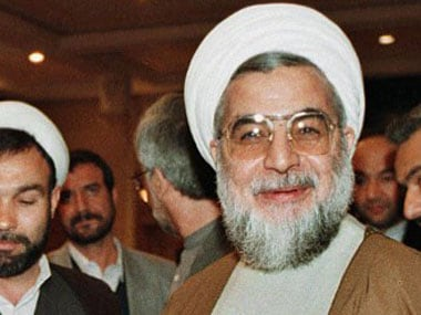 File photo of Hassan Rouhani. AFP