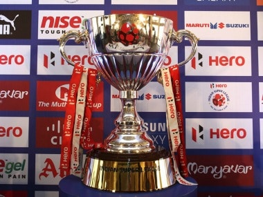 The Indian Super League trophy. Image courtesy: Indian Super League official website