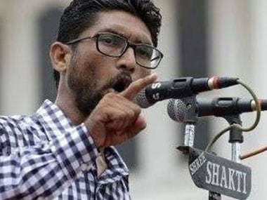 File image of Dalit leader Jignesh Mevani. Facebook @Jignesh Mevani