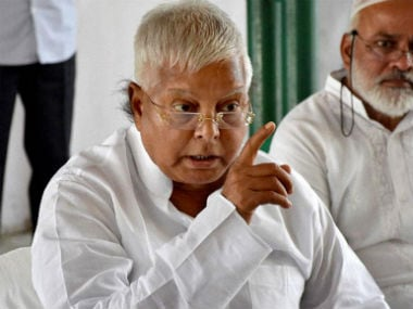 File image of Lalu Prasad Yadav. CNN-News18