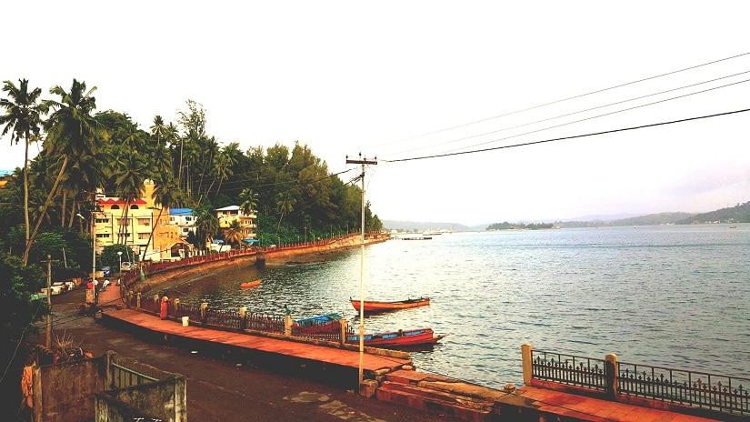 Port Blair promenade