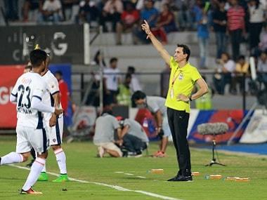 Mumbai City FC coach Alexandre Guimaraes. ISL