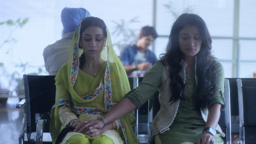 Amrita Puri & Sandya Mridul as Harleen Singh & Nazneed Khan in the show P.O.W. Bandi Yuddh Ke