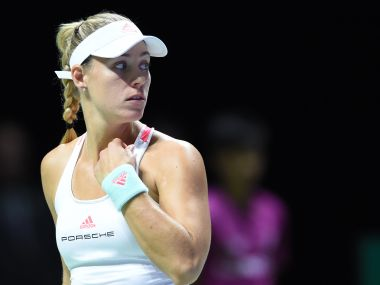 Angelique Kerber continued her unbeaten run at the WTA finals to make the semifinals. AFP
