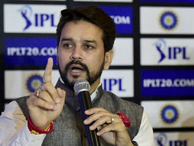 File photo of Anurag Thakur. PTI