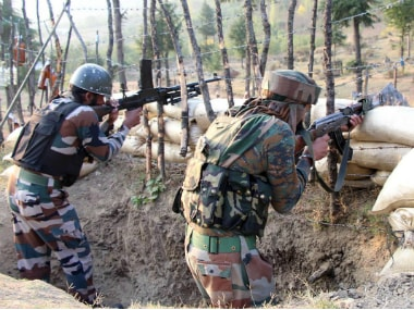 Indian Army in action. PTI