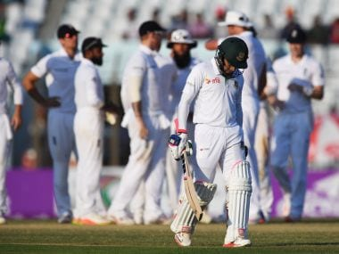 Bangladesh vs England: Match headed for thrilling finish after hosts reach 253/8 on Day 4
