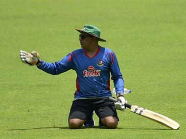 Bangladesh coach Chandika Hathurusingha. AFP