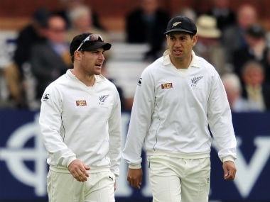 Brendon McCullum is reported to have shared strained relations with Ross Taylor. AFP