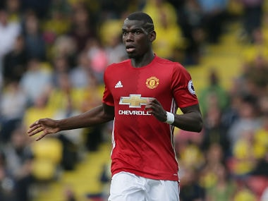 File photo of Manchester United's Paul Pogba. AP