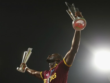 Darren Sammy has said he hopes the national team's success in the T20 format would help promote the CPL. Getty Images