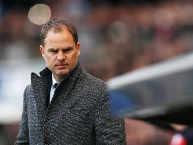 File photo of Frank de Boer. Getty