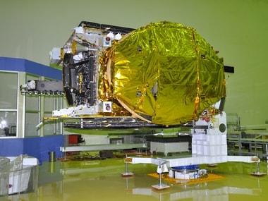 GSAT-18 Spacecraft undergoing test at ISITE Bengaluru. ISRO website