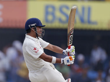 Gautam Gambhir resumed his innings on 6 after Murali Vijay's dismissal. AP