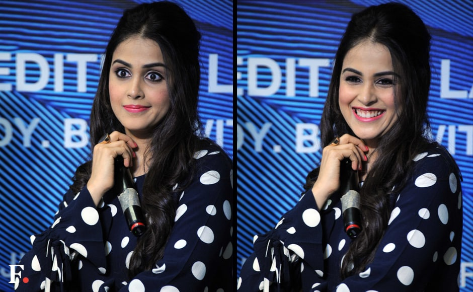 The actress looked her cheery self at the launch. Sachin Gokhale/Firstpost