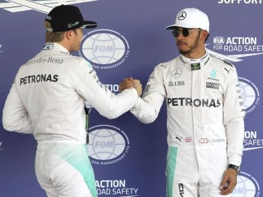 Mexican GP: Lewis Hamilton hangs on to world title hopes with pole position