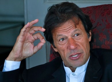 India trying to implode Pakistan and sabotage moves against corruption: Imran Khan