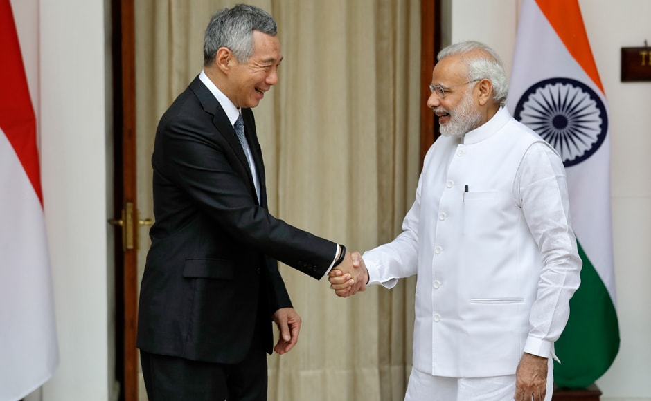 On Tuesday India and Singapore signed three agreements, including two in the area of skill development, following delegation-level talks headed by Prime Minister Narendra Modi and Singapore Premier Lee Hsien Loong, now on visit to Delhi. AP
