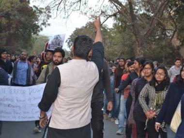 Section of JNU students burns effigy of PM Modi on Dussehra, university probes incident