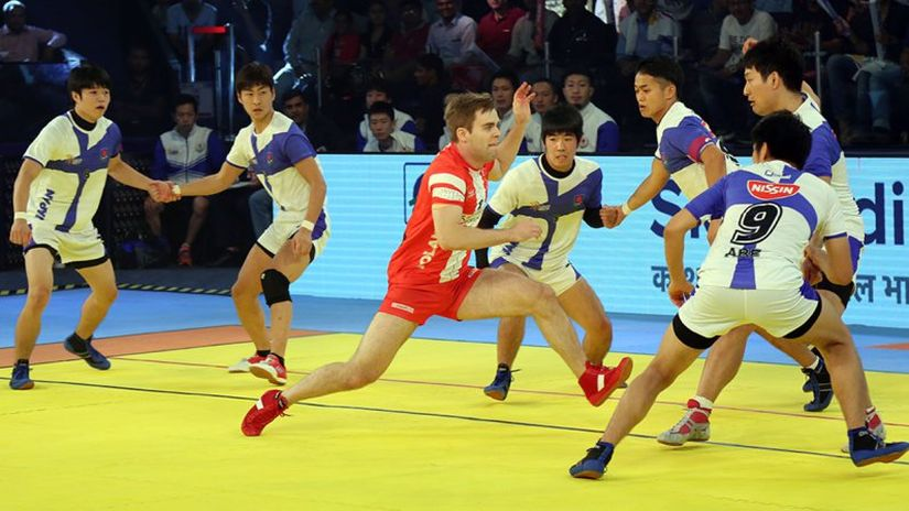 The Japanese team for the 2016 Kabaddi World Cup consists mostly of college students. Image Courtesy - 2016kabaddiworldcup.com