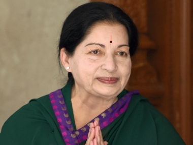 A file image of Tamil Nadu CM J Jayalalithaa. PTI