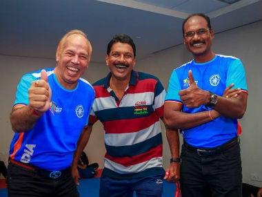 Poland Kabaddi team's Indian coach K Ganesh. Image courtesy: Kabaddi Poland Facebook page
