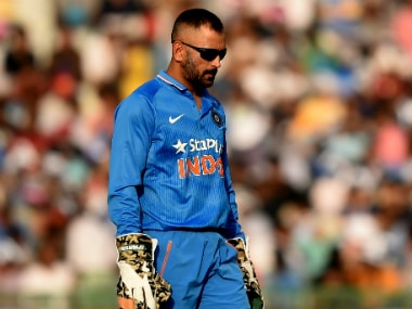 MS Dhoni's regained form could lead into to victory in his hometown. AFP