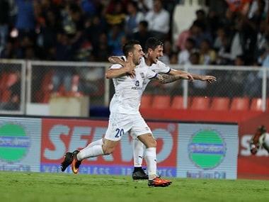 Matias Defederico bossed the midfield in Mumbai's opening match win. Sportzpics
