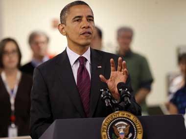 A file photo of Obama. AP