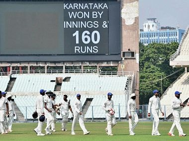 Ranji Trophy roundup: Karnataka crush Delhi; Saurashtra aim bonus-point win