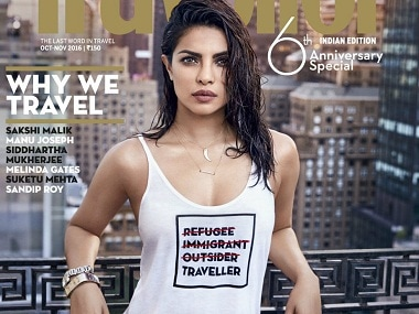 Priyanka Chopra apologises after her controversial refugee t-shirt cover