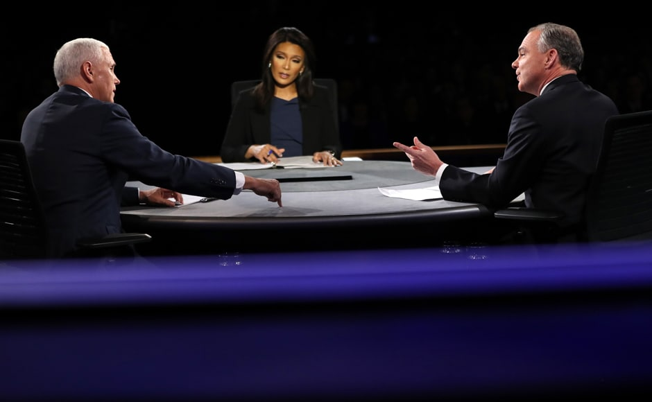 Vice presidential hopefuls Tim Kaine and Mike Pence launched into their only debate of the campaign on Wednesday, immediately clashing on the reputations, experiences and policies of their bosses chasing the White House. Reuters