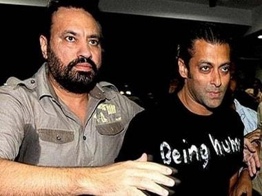 Shera with Salman Khan. Image from News 18
