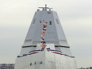 US Navy inaugurates new stealth warship and guided-missile destroyer USS Zumwalt