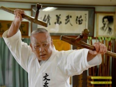 Sensei Takashi Nakamori. AFP